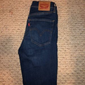 Mile high super skinny Levi's
